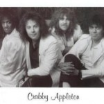 Crabby Appleton (Left to Right) Roger Koko Powell, Michael Fennelly, Mike Cochrane, Faldo