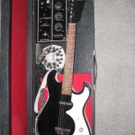 Silvertone W/Amp in case